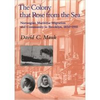 "Cover of the book ""The Colony that Rose from the Sea"""