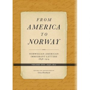 "Cover of the book ""From America to Norway volume 1"""