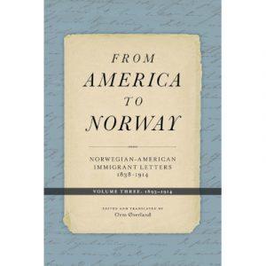 "Cover of the book ""From America to Norway volume 3"""