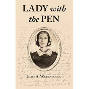 """Cover of the book """"The Lady with the Pen"""""""