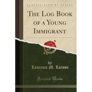 "Cover of the book ""The Log Book of a Young Immigrant"""