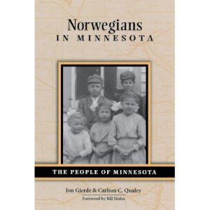 """Cover of the book """"Norwegians in Minnesota"""""""