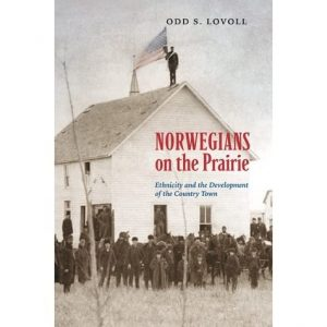 """Cover of the book """"Norwegians on the Prairie"""""""