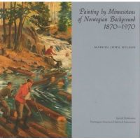 "Cover of the book ""Paintings by Minnesotans of Norwegian Background"""