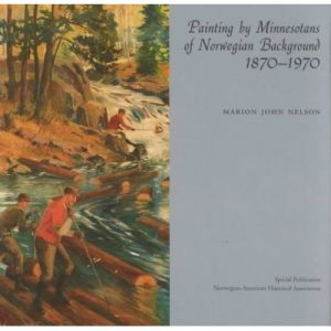 """Cover of the book """"Paintings by Minnesotans of Norwegian Background"""""""