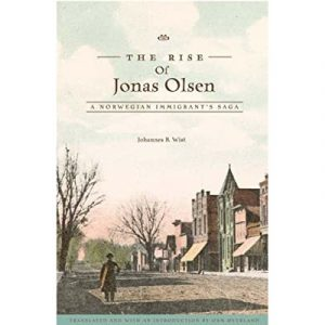 "Cover of the book ""The Rise of Jonas Olsen"""