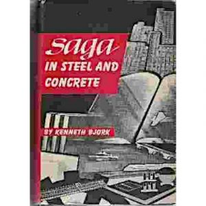 """Cover of the book """"Saga in Steel and Concrete"""""""