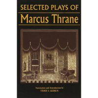 "Cover of the book ""The Selected Plays of Marcus Thrane"""