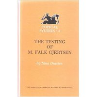 "Cover of the book ""The Testing of M. Falk Gjertsen"""