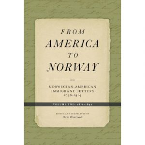 "Cover for the book ""From America to Norway volume 2"""