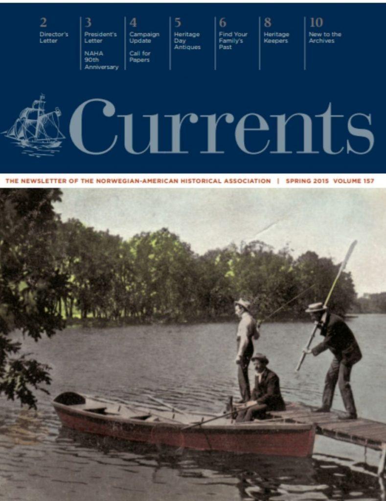 cover of spring 2015 newsletter