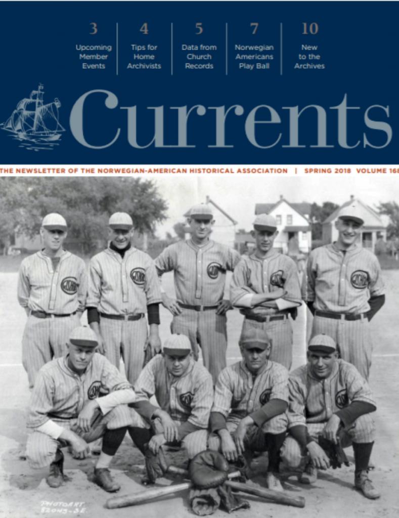 cover of spring 2018 newsletter