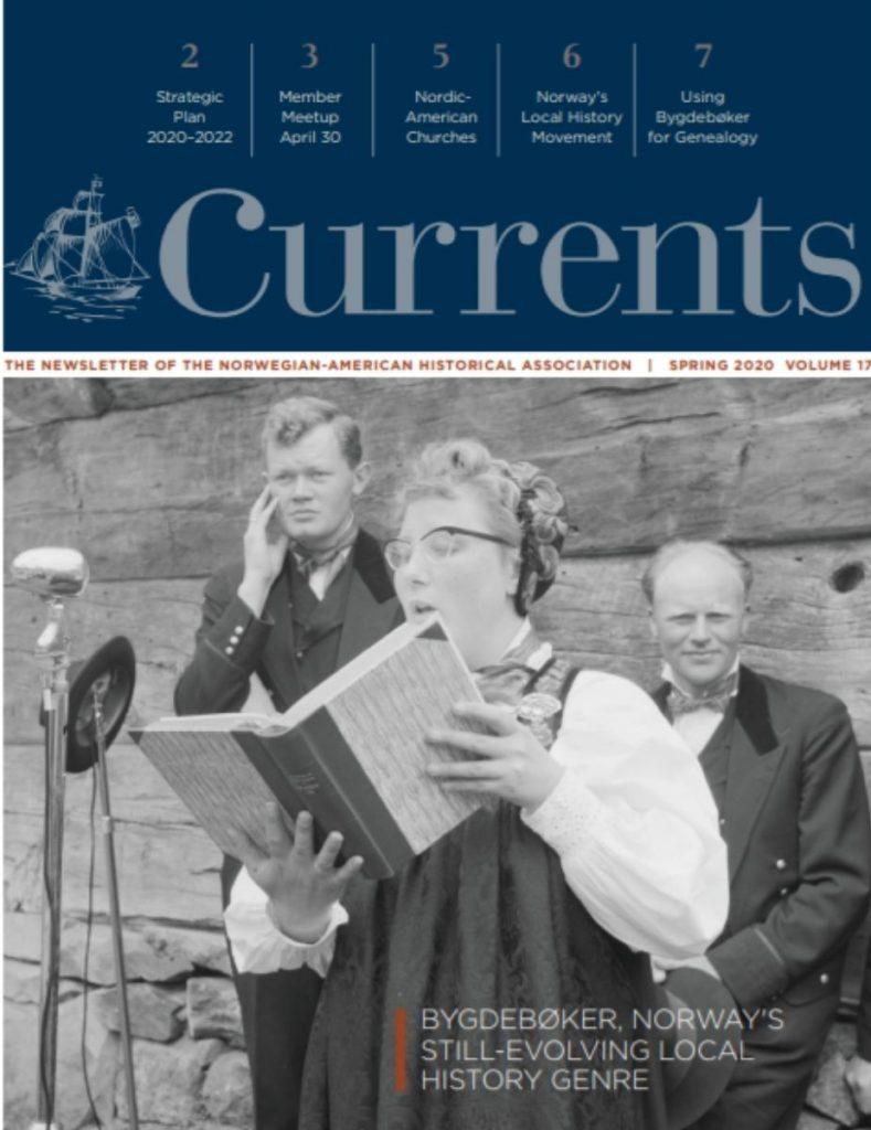 cover of spring 2020 newsletter