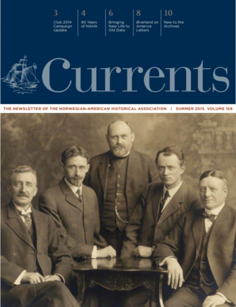 cover of summer 2015 newsletter