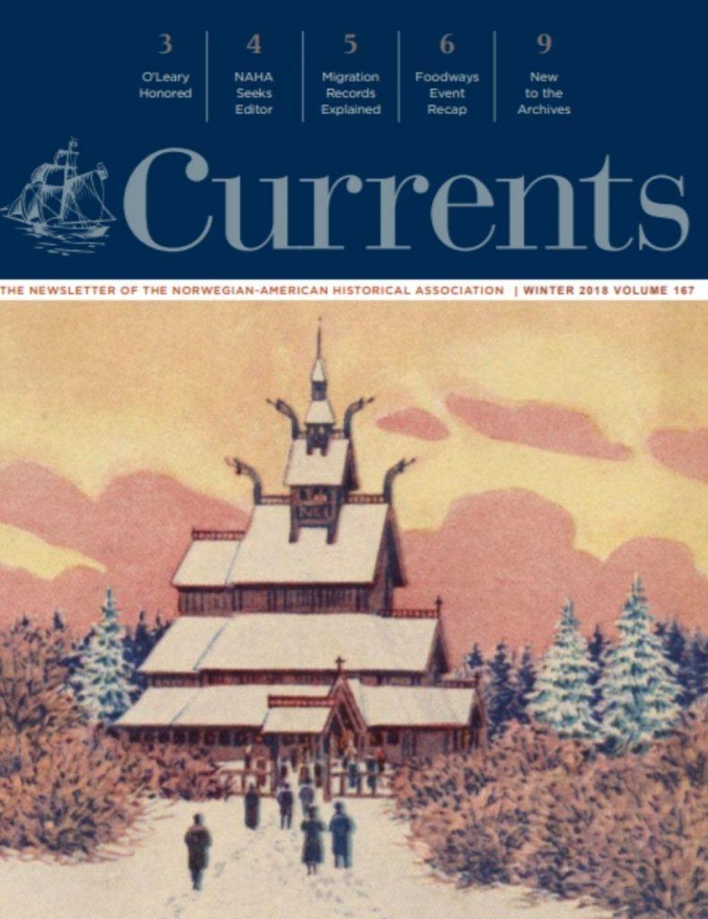 cover of winter 2018 newsletter