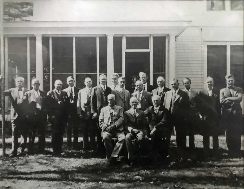 Early organizers of NAHA, 1925