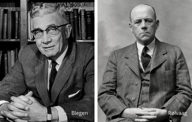 Theodore Blegen and O. E. Rolvaag