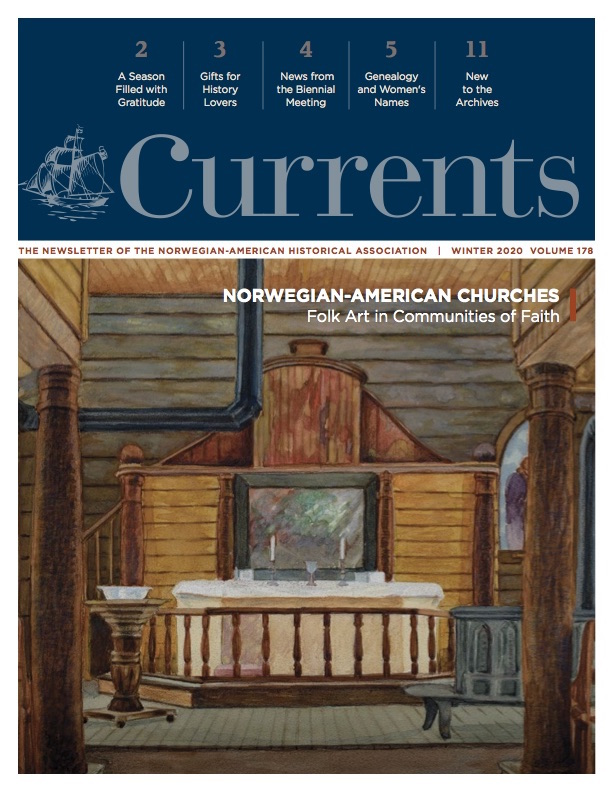 Currents Winter 2020 cover